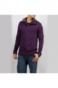 Fifth Avenue - Dark Purple Men Sweater - 15206-W11 1