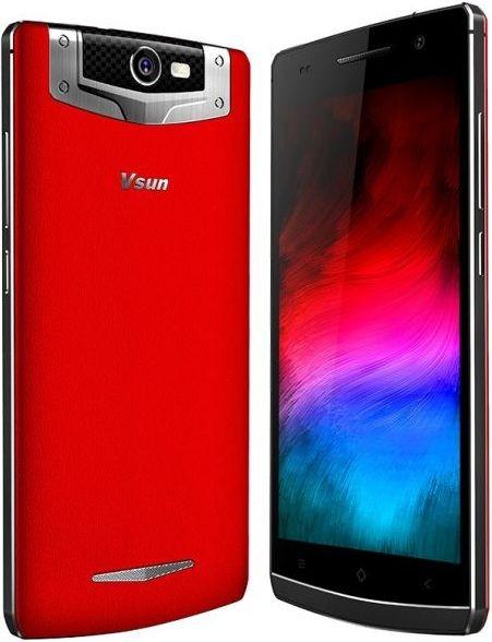 VSUN DNA Dual Sim (3G, 2GB RAM, 16GB ROM, Red)