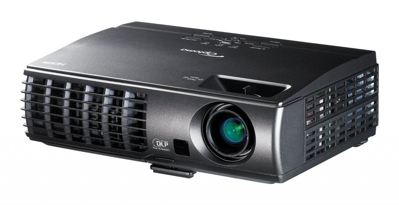 Optoma w304m wxga 3100 lumen full 3d portable dlp for Lumen pocket projector