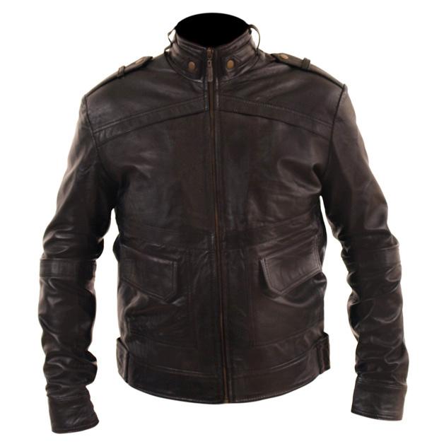 b5c6ecdb5 Slim Fit Biker Genuine Leather Jacket Price In Pakistan