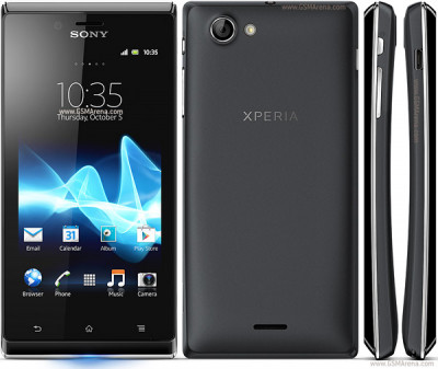 Sony XPERIA J ST26i (4GB, Black) 1