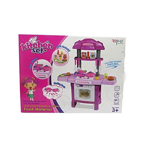 Kitchen Set For Girls Pink Price In Pakistan Homeshopping