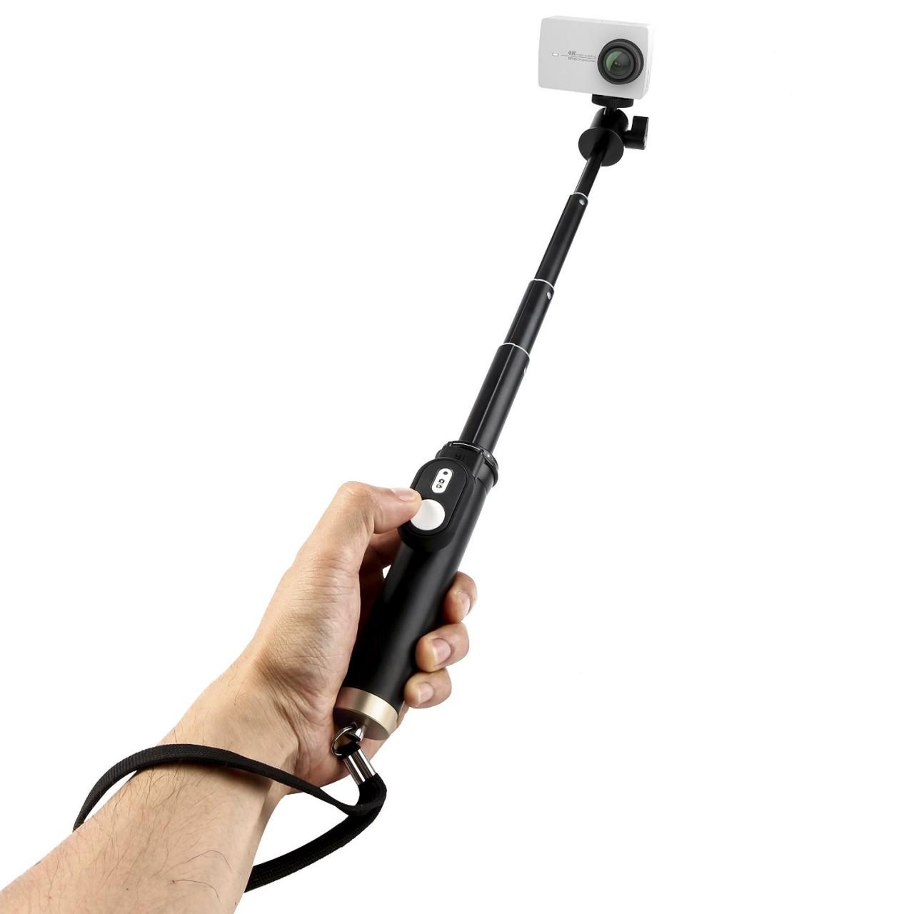 yi 4k action camera with selfie stick bluetooth remote. Black Bedroom Furniture Sets. Home Design Ideas