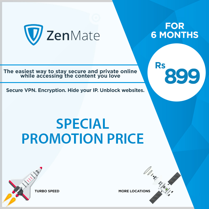 Zenmate VPN Voucher for 6 Months