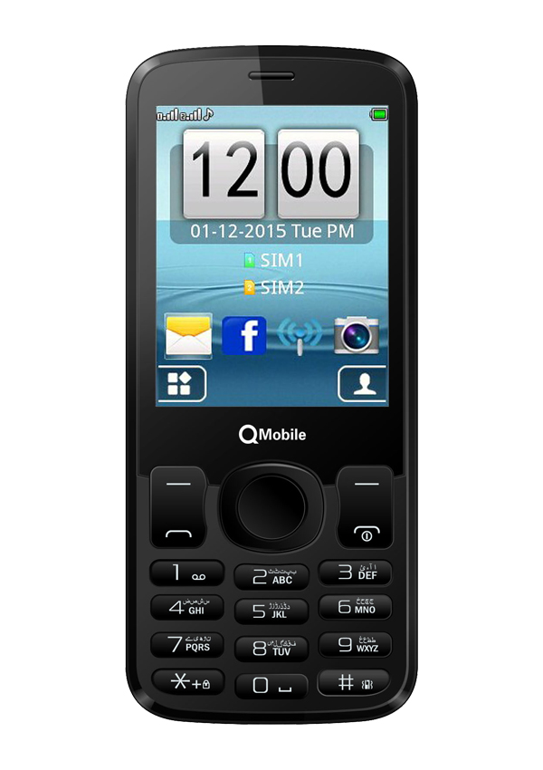 QMobile 3G-5 Dual Sim (3G , White) Price In Pakistan