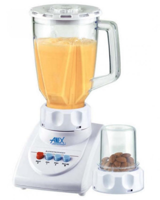 Anex 2 In 1 Deluxe Blender Grinder AG690UB White Price In Pakistan