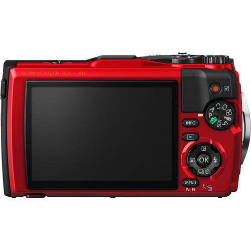 Olympus Tough TG5 Digital Camera Red Price In Pakistan