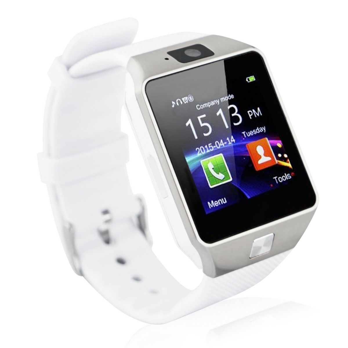 59a2d2997 Android Smartwatch DZ09 White Silver Price -Home Shopping