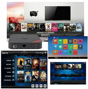 Tronfy XBMC Amlogic S805 Quad Core Google Android 442 Kitkat OS Smart Streaming Mini HTPC TV Box HD 1080PH265 HDMI WIFI Netflix Youtube Skype Media player Bluetooth 40  RJ45 LAN Ethernet Port Support DLNAAirplay Mircast Price in Pakistan