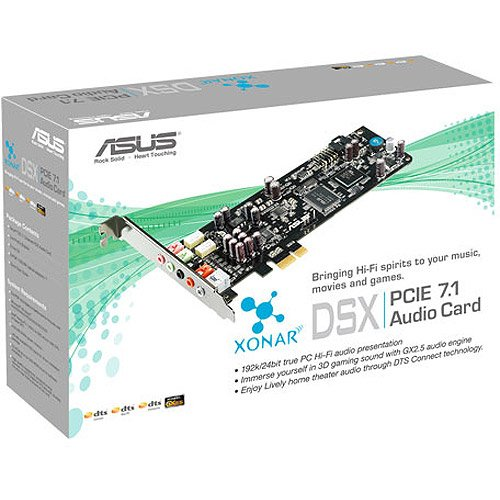 asus xonar dsx how to change sound channel
