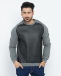 Fifth Avenue Heather Grey Cotton Sweater For Men in Pakistan