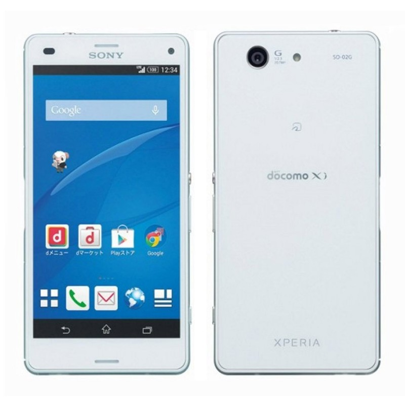 Sony Xperia Z3 Compact Docomo (2GB RAM, 16GB ROM, White)