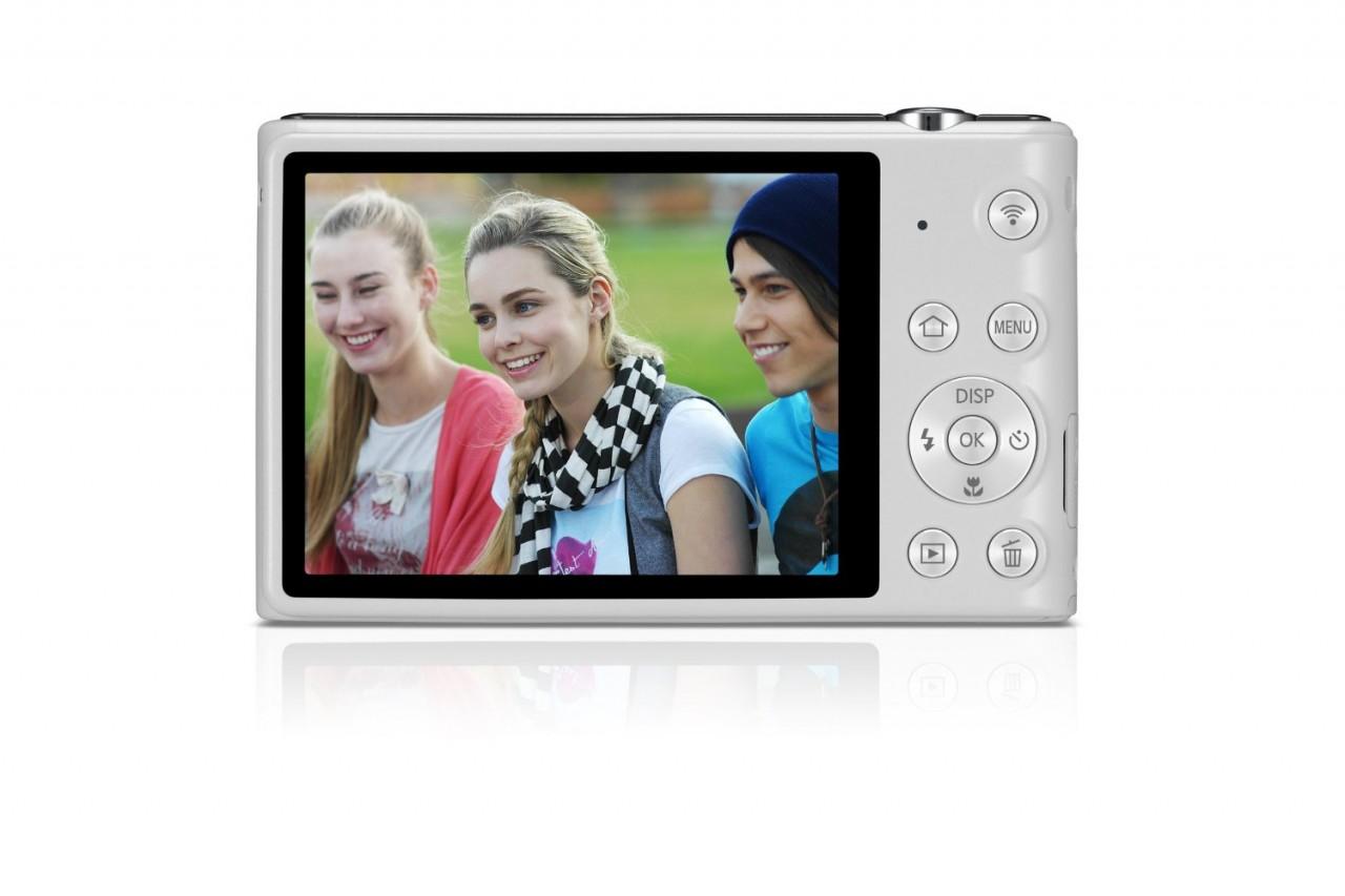 Samsung ST150F 16 2MP Smart WiFi Digital Camera (White)