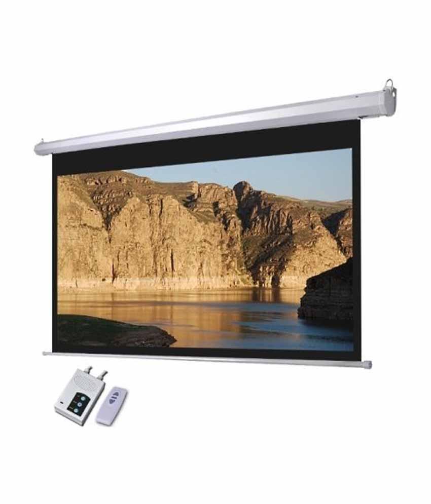 Projector Screen Electric Motorised Price In Pakistan