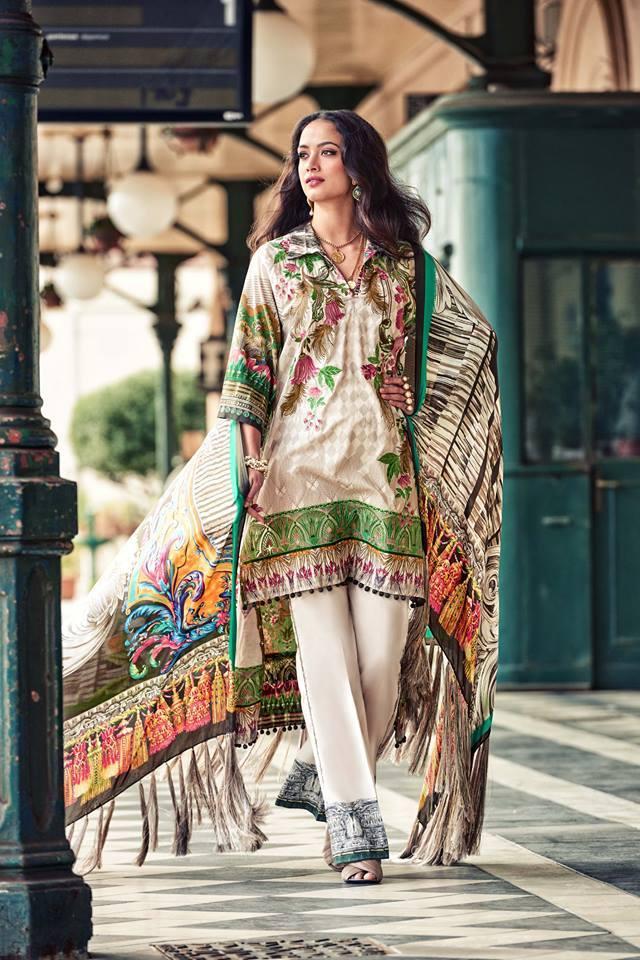 Faraz Manan Lawn 2017 Vol 1 Fm14 Price In Pakistan Home