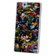 Sony Xperia Z Covers Design 3 in Pakistan