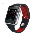 Android Bluetooth Smartwatch M3 Red Price in Pakistan