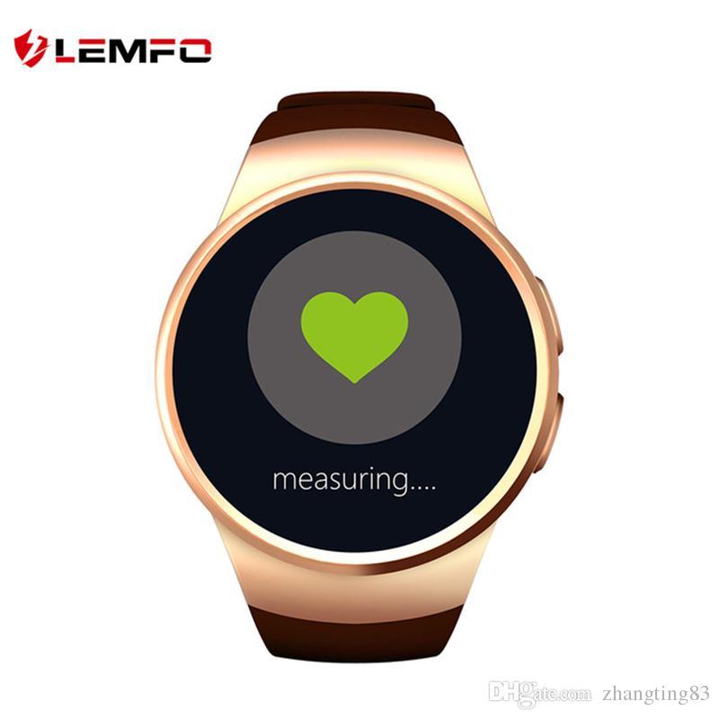LEMFO KW18 Bluetooth Smart Watch Gold