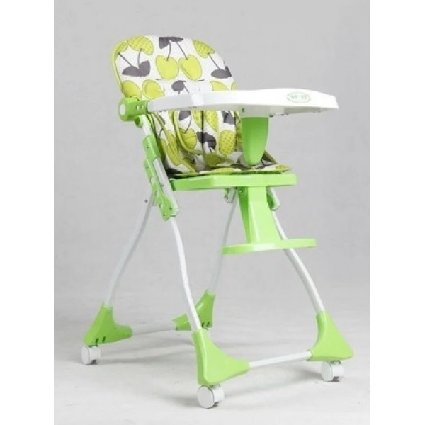 Baby Feeding Adjustable High Chair Green White Price In Pakistan