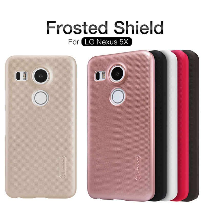 online store aa39c 0fe26 Nillkin Super Frosted Back Cover Nexus 5X
