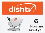 Dish TV SD Renewal For 6 Months Price in Pakistan
