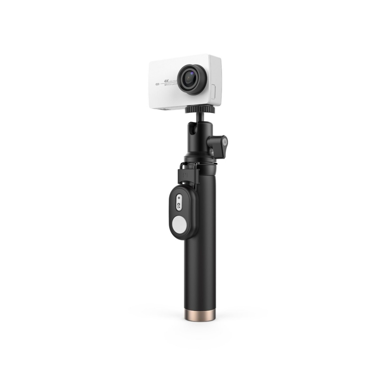 yi 4k action camera with selfie stick bluetooth remote. Black Bedroom Furniture Sets. Home Design Ideas