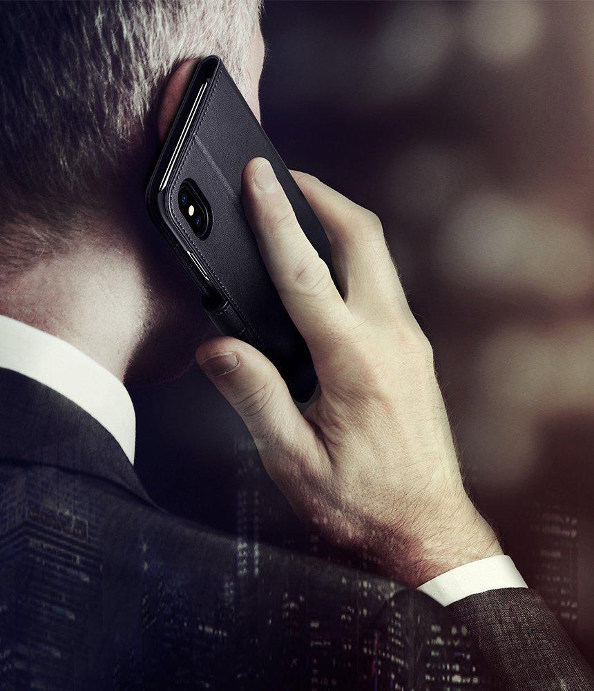 Spigen Original Iphone X Wallet S Flip Prine In Pakistan Case Leather Casing Cover Black