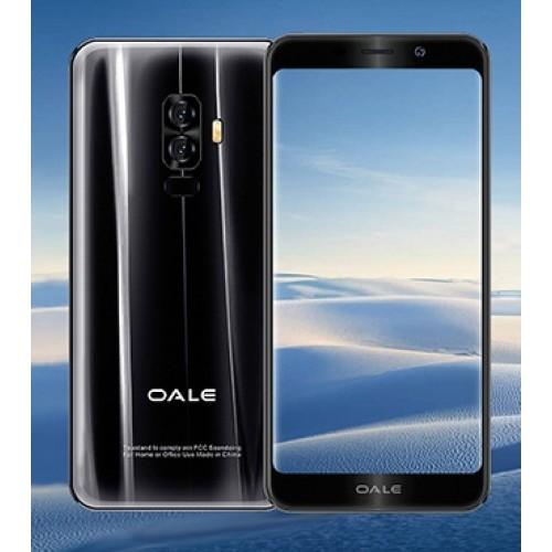 OALE X4 Dual Sim (2GB RAM, 16GB ROM, Black) Finger Print
