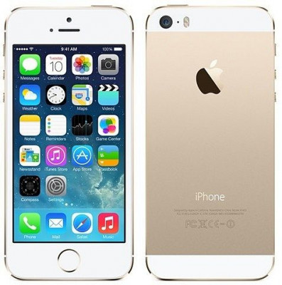 Apple iPhone 5S (16GB, GOLD, Factory Unlocked) 1