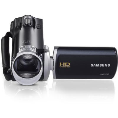 Samsung HMX-F90 HD Camcorder (Black)  1