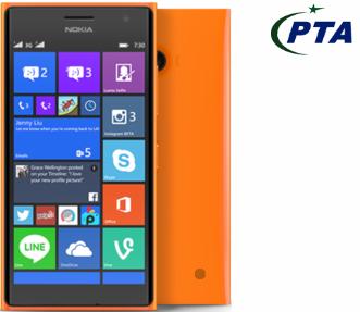Nokia Lumia 730 Price in Pakistan (8GB, Dual Sim, Orange)