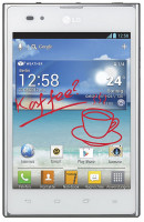 LG Optimus VU P895 White in Pakistan