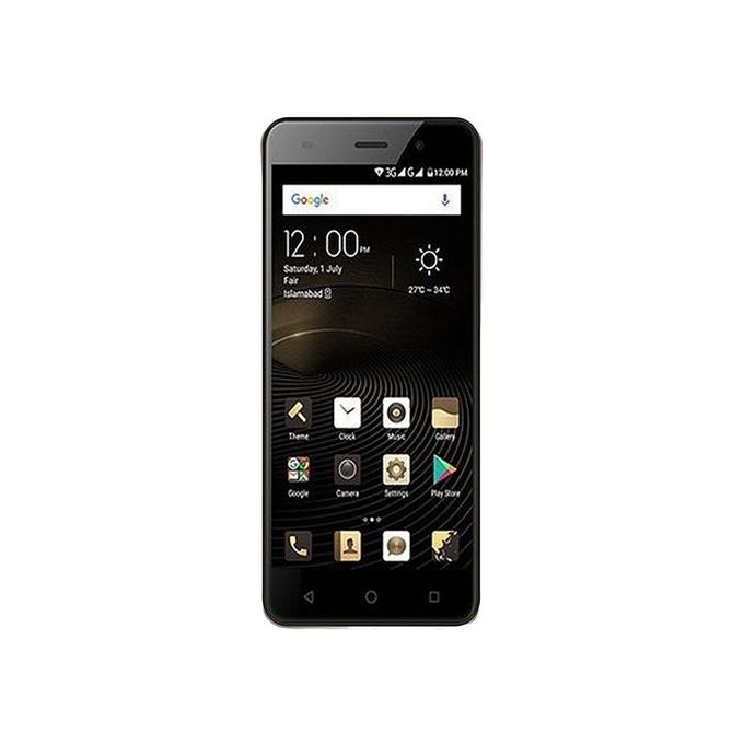 size 40 c2cda ca89a QMobile Noir S8 Dual Sim (4G, 2GB RAM, 16GB ROM, Gold) Official Warranty