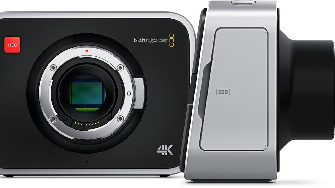 Blackmagic Production Camera 4k Ef At Home Shopping