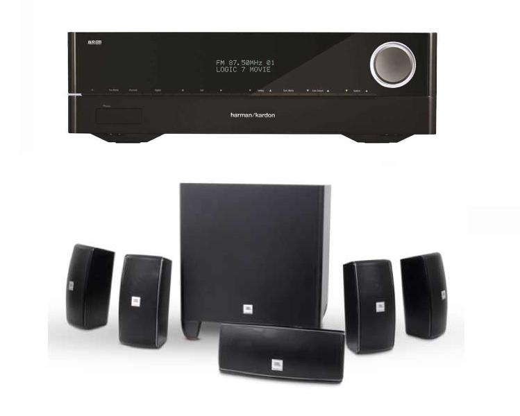 jbl cinema 610 speakers avr161 home threater system in pa. Black Bedroom Furniture Sets. Home Design Ideas