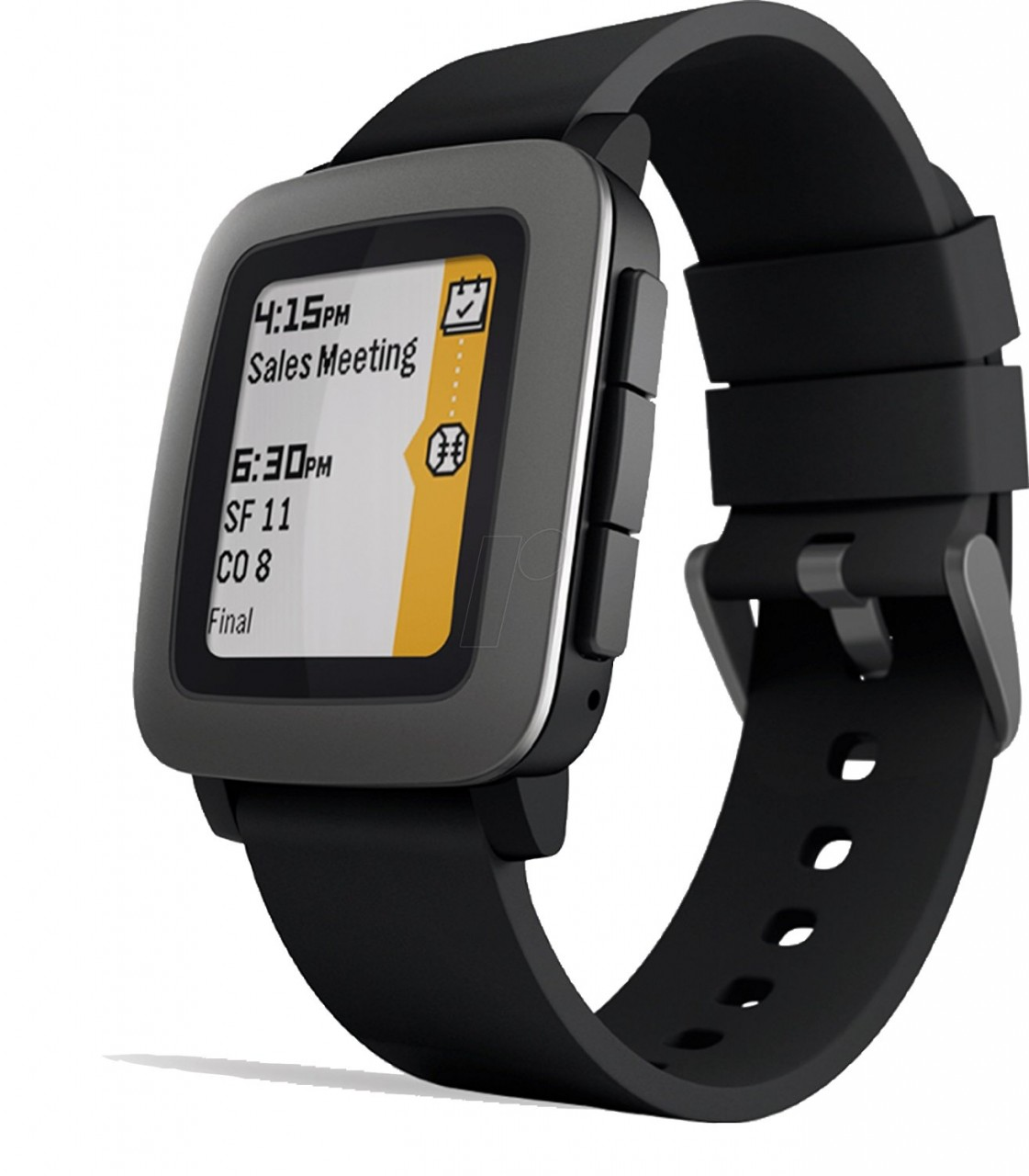Pebble Time Smartwatch Black Price In Pakistan Homesh Red