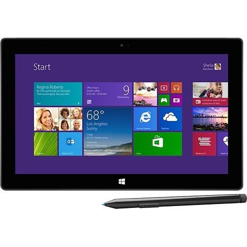 Microsoft - Surface Pro 2 with 64GB - Dark Titanium