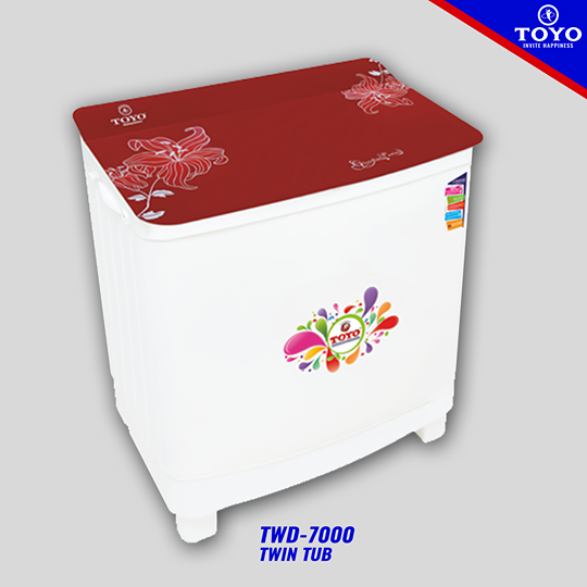 Toyo Washing Machine TWD7000 On Installment In Lahore