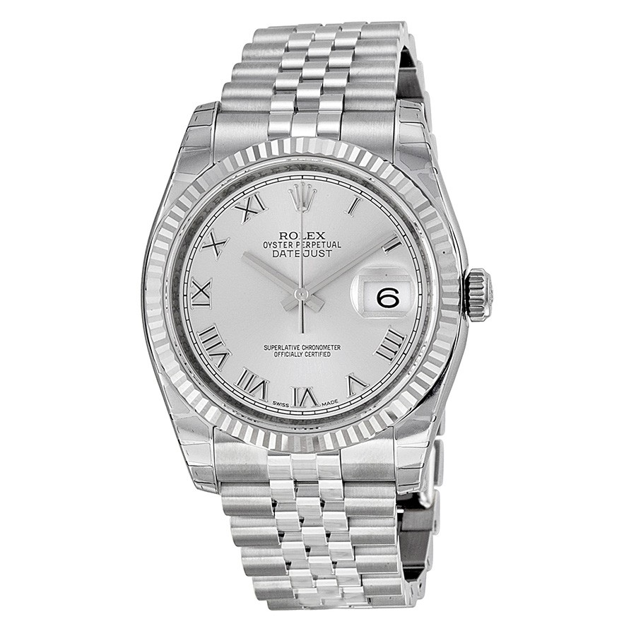 d63696a05ad ... FashionWatchesROLEX Datejust Silver Dial Automatic Stainless Steel  Watch 116234. image
