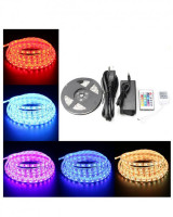 SE Light 5m RGB LED Roll with Remote  16 Colors in Pakistan