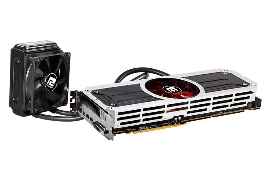 PowerColor AXR9 295X2 8GBD5-M4D Radeon R9 295x2 8GB 1024 (512 x 2)-Bit  GDDR5 PCI Express 3 0 HDCP Ready Graphic Card with 120GB SSD & 3 Surprise  Games
