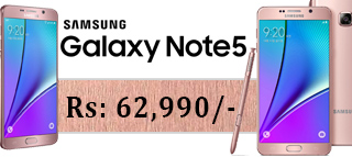 Samsung Galaxy Note 5 Rose Gold