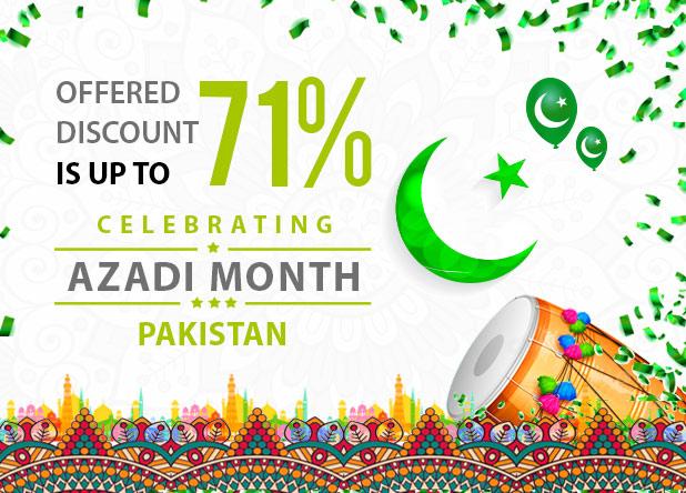 Celebrating Azadi Month Pakistan