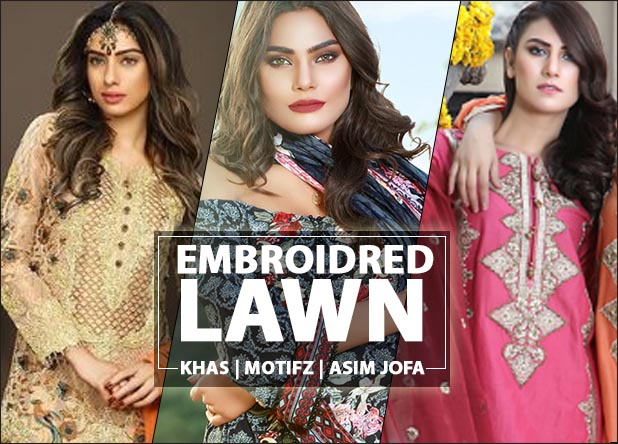 Embroidred Lawn 2017