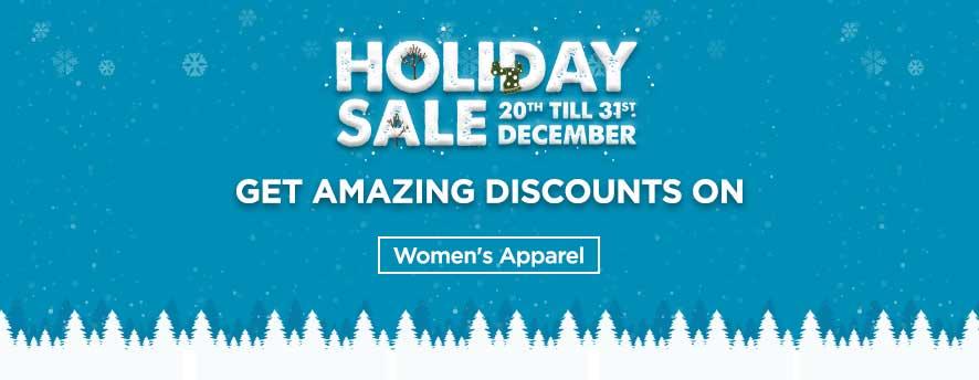 Holiday Deals Women Apparel