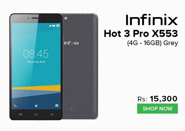 Infinix Hot 3 Pro X553
