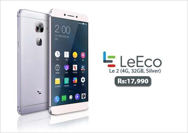 LeEco Le 2 (4G, 32GB, Silver)