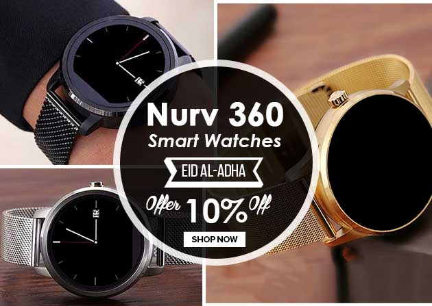Nurv Handy Vogue 360 Smart Watches
