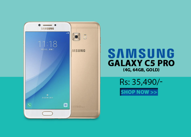 Samsung Galaxy C5 Pro 4G 64GB Gold