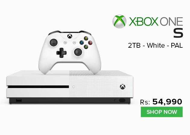 Xbox One S 2TB - White - PAL